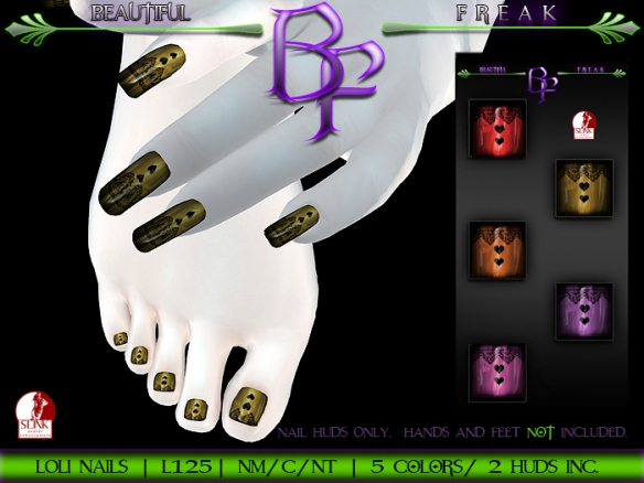 BF Loli nails poster template ldg2
